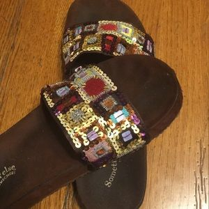 UC Some thin' else sandals from Skechers
